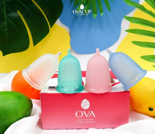 4 màu của cốc nguyệt san Ovacup