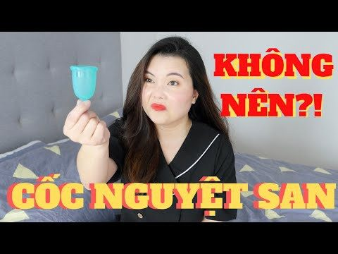 Review sử dụng cốc nguyệt san Ovacup của hot vlogger Trinh Meow