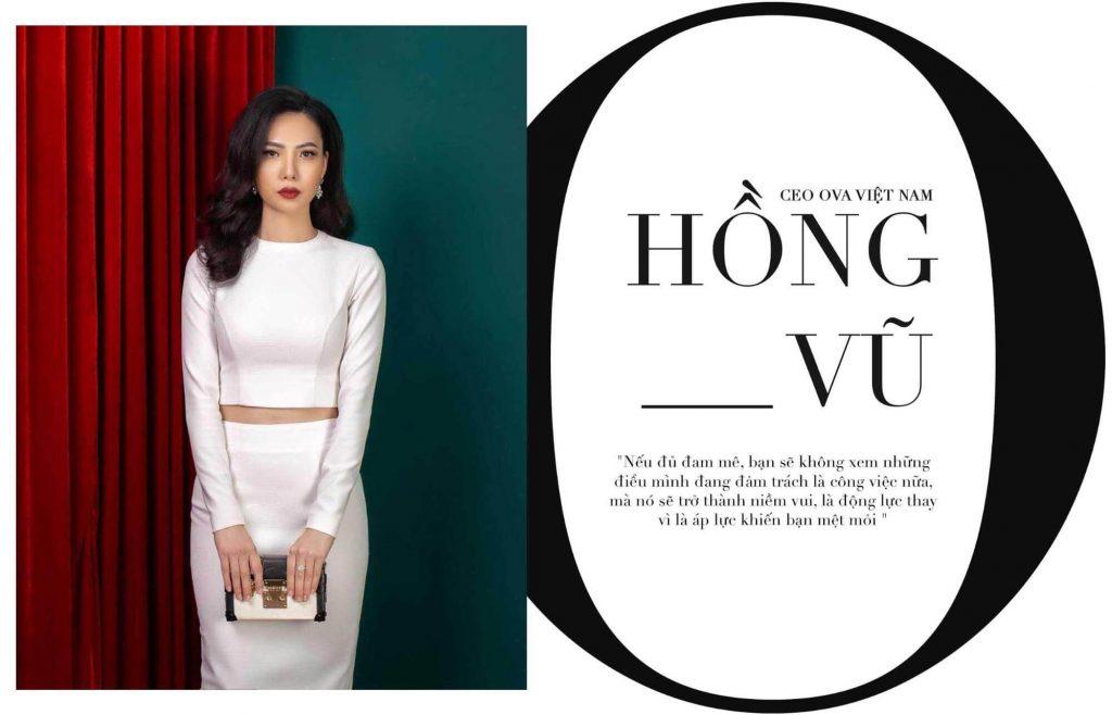 Ms. Hồng Vũ - CEO Công ty TNHH OVA Việt Nam 1