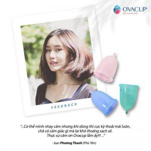 Chia sẻ từ bạn Phương Thanh - khách hàng của Ovacup