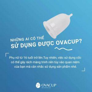 Sử dụng cốc nguyệt san có bị mất trinh không? - Những ai có thể sử dụng được Ovacup?