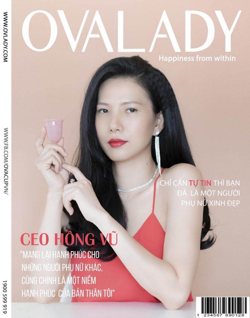 Ms. Hồng Vũ - CEO Công ty TNHH OVA Việt Nam 3