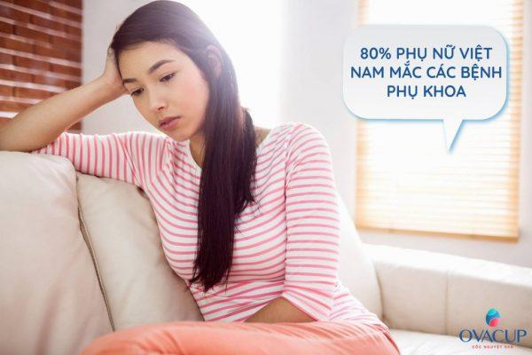 80% phụ nữ Việt Nam mắc các bệnh phụ khoa