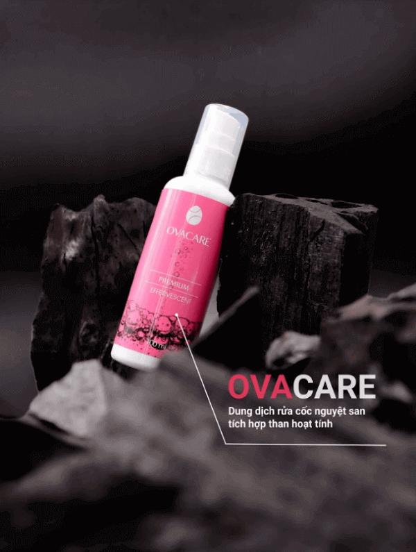 Dung dịch tiệt trùng chuyên dụng cho cốc nguyệt san Ovacare