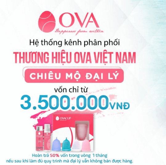 OVA Việt Nam liên tục chiêu mộ đại lý chính hãng để mở rộng thị trường