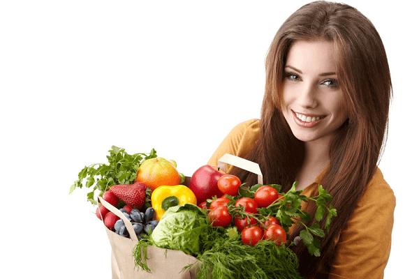 Chế độ ăn giàu chất dinh dưỡng sẽ giảm thiểu tình trạng đau lưng trước chu kỳ kinh nguyệt