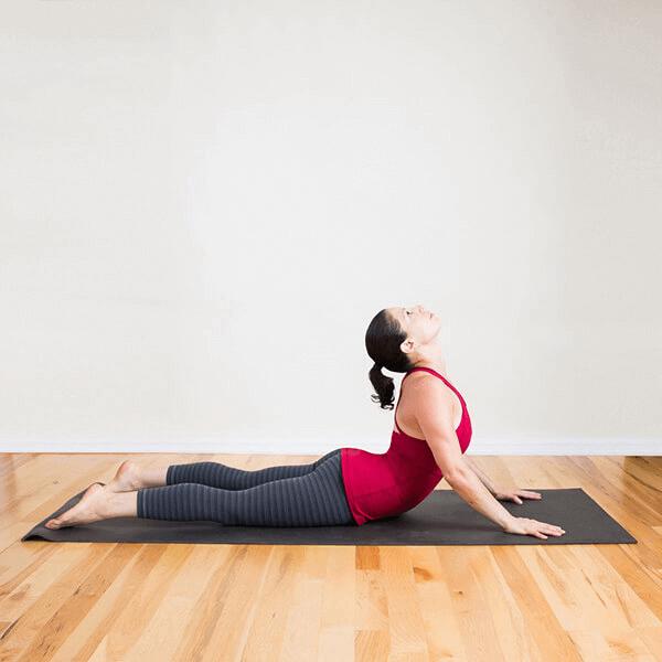 Tư thế rắn hổ mang giúp kéo giãn cơ và làm giảm đau lưng cực kỳ hiệu quả