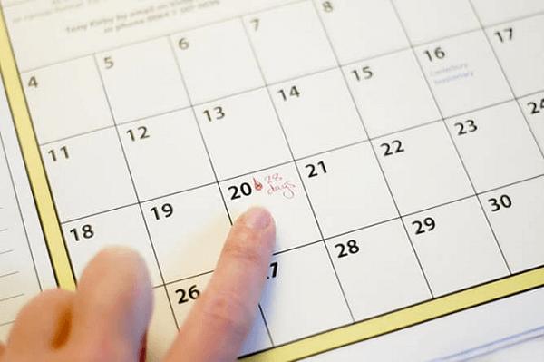 Chu kỳ kinh nguyệt là sự lặp lại của của một hiện tượng xảy ra định kỳ và độ dài của chu kỳ là từ 28-35 ngày