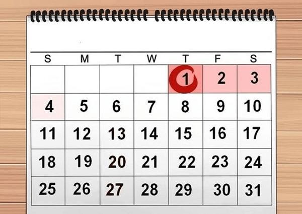Mỗi kỳ hành kinh thường kéo dài từ 3-7 ngày